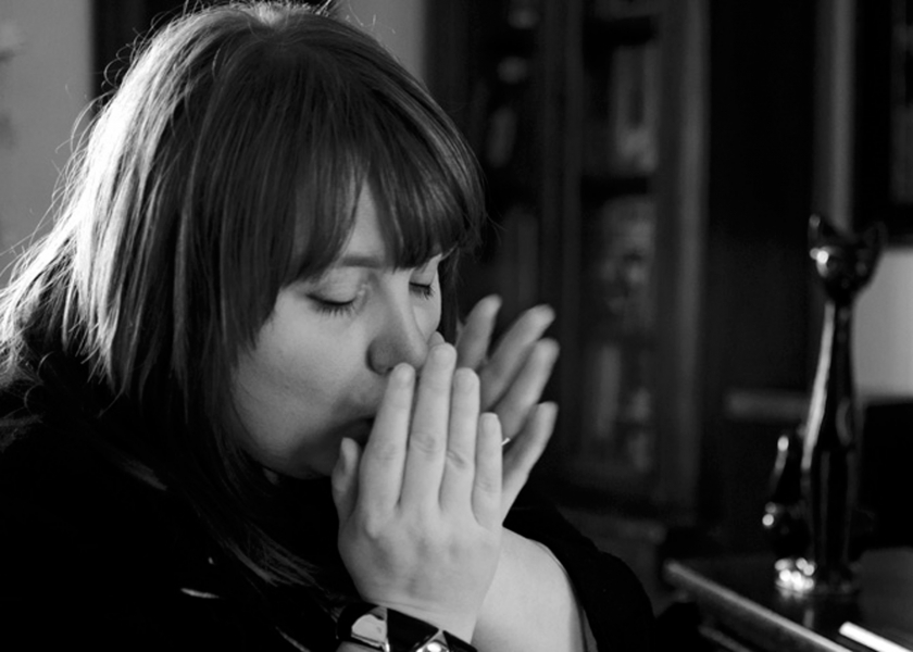 Blues singer Katie Bradley portrait 2015