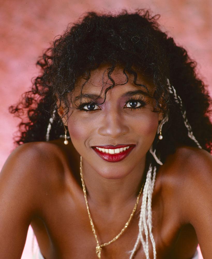 portrait of singer sinitta 1984