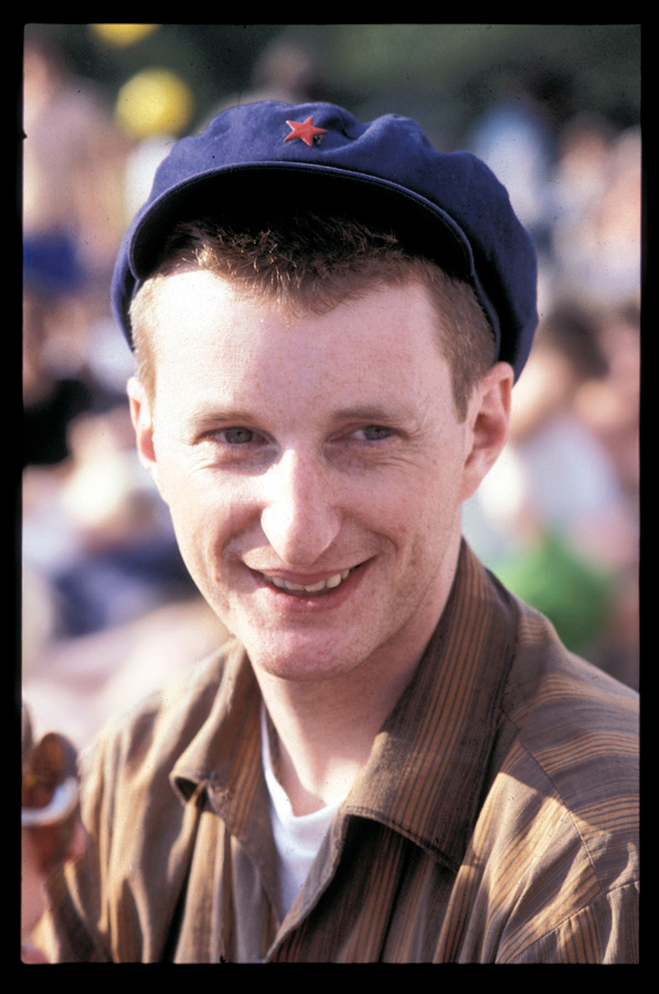 Billy Bragg at GLC Festival for Jobs 1983