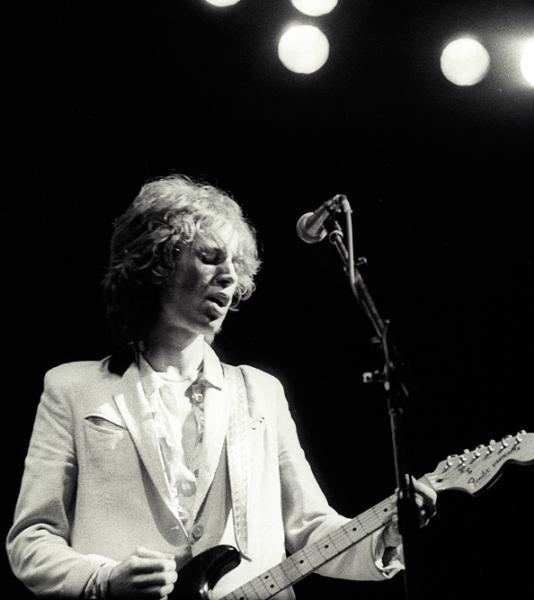 Peter Perrett Clastonbury 1979