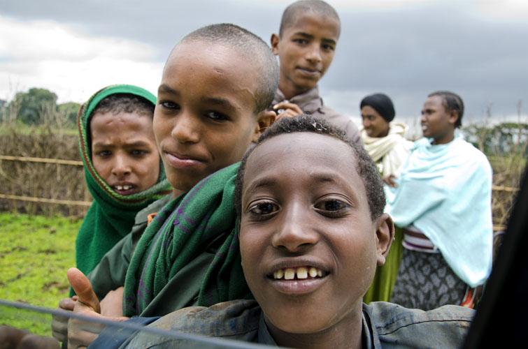 Young Ethiopian Boys, Fang